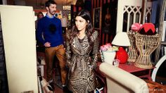 @Domaine's Editorial Director @Mat Sanders and editor @Julia Walsh go vintage shopping with Kourtney Kardashian in LA