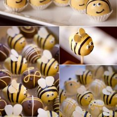 bees - love these and they look almost simple enough that I might be able to make them without them looking scary!