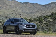 2015 Infiniti QX70S in Graphite Shadow