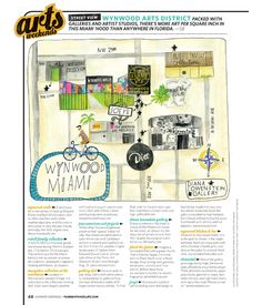 Illustrations for Florida Travel & Life Magazine