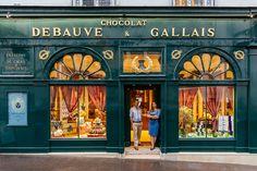Debauve et Gallais  - Un paseo inolvidable por los escaparates de París