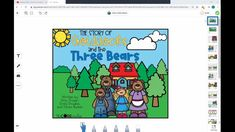 Get students reading and responding to the story Goldilocks and the Three Bears in minutes with zero prep! This resource is compatible with Google Slides, Seesaw and is printable. Just click on the included links and assign to students or provide as a printable packet.