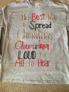 Puff painting shirts for the holidays Christmas Shirts, Christmas Crafts, Christmas Ideas, Merry Christmas, Xmas, Puff Paint Shirts, Puffy Paint Crafts, Diy Puffs, Cute Crafts
