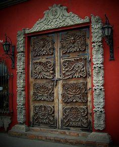 mexico door 1, via Flickr.