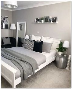 Ideas Bedroom Ideas For Teen Girls Dream Rooms Loft For 2019 Small Room Bedroom, Gray Bedroom, Trendy Bedroom, Bedroom Colors, Home Bedroom, Bedroom Decor, Bedroom Ideas, Master Bedroom, Bedroom Rustic