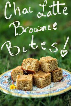 Rya Pie: Chai Latte Brownie Bites