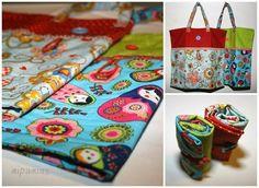 Projekt Stoffabbau Teil 3 - Einkaufstaschen | mipamias | Bloglovin'