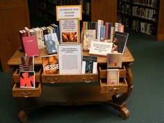 Banned Book Week Display | Thomas Ford Memorial Library