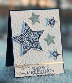 Snowy Moose Creations Stampin Up Bright & Beautiful TTS34