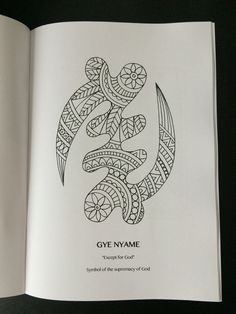 Adinkra Symbols Colouring Book by SankofaCreativeCo on Etsy