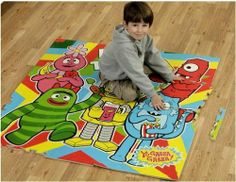 Yo Gabba Gabba Party in My Tummy Floor Mat by Betesh Group. $20.62. Includes 16 pieces. Made of soft and durable EVA foam. Overall size: 4' x 4' (16 Sq. Ft. Play Area). Pieces interlock for a safe play area. Easy to assemble. Join Brobee, Foofa, Muno, Plex, and Toodee on this durable Yo Gabba Gabba Party in My Tummy Floor Mat for some amazing play time. Kids enjoy putting the soft, colorful pieces together and then taking it apart for easy storage. The Yo Gabba ...