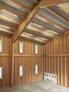 RBCH architectes - Storage shed for Terraz, Albeuve 2016. Photos © Lionel Henriod.