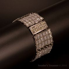 beadwoven beauty #bracelet #handmade