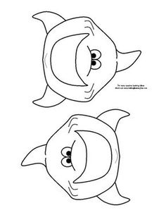shark eats fish game pattern