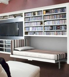 Since its 1900 invention, the Murphy Bed has become a standard space-saving solution for making a room multifunctional.