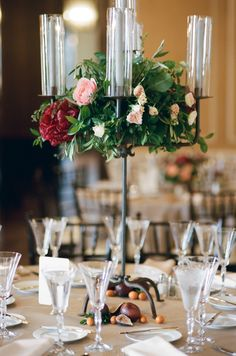 An Italy Inspired Blush and Red Wedding via TheELD.com | Rochelle Cheever Photography