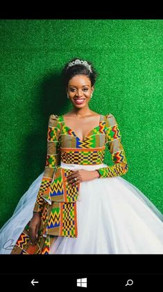 African wedding dress - African wedding dress, African women's dress, Dashiki prom dress, bespoke dashiki dress, African women clothing – African wedding dress African Print Wedding Dress, African Wedding Attire, African Attire, African Wear, African Prom Dresses, African Dresses For Women, African Women, Women's Dresses, Hijab Bride