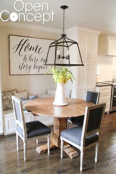 We have had a lot of request for the free plans to this round table that we built, for the Nicholson's breakfast nook, for our pilot Open Concept on HGTV! So excited to share them with you guys, today We are still waiting to hear if the networkwill order a full series and we don't {...Read More...}