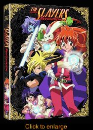 Slayers Revolution  TV Series 4 - click to enlarge