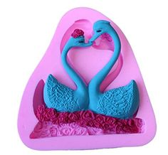 Silicone Chocolate Mould Double Swan Cake Decoration Mold Bakeware Cooking Tools Kitchen Accessories * Read more  at the image link. (This is an Amazon affiliate link and I receive a commission for the sales and I receive a commission for the sales)
