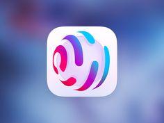LazyTool 2 designed by Dmitry Uvarov. App Icon Design, Identity Design, Logo Design, Launcher Icon, Mobile App Icon, Application Icon, App Logo, Abstract Logo, Photoshop Design