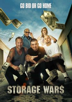 STORAGE WARS! I would love to be able to travel and do this!