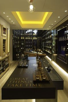 The Whisky Shop flagship store by gpstudio, London store design- God, can I please go??!!