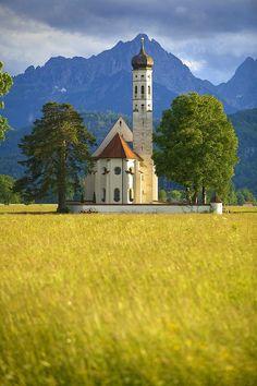 St. Coleman's Church - Allgau, Bavaria, Germany