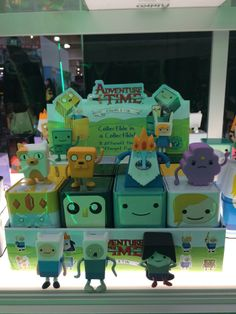 Adventure Time figs with collectible tin  Toy Fair 2014 Action Figures Collectibles New York  