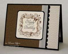 Stampin' Up! - Elementary Elegance, masculine or feminine even with butterflies.