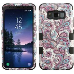 Samsung Galaxy S8 Edge/ S8 Plus Shine Glitter Shimmer Leopard Hybrid Case Pink Fashionable And Attractive Packages Cases, Covers & Skins