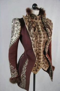 Victorian riding jacket but would make a good inspiration for a Steampunk jacket