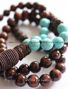 Tassel necklace- handmade bohemian jewelry- long tassel necklace- bohemian necklace
