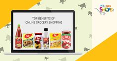 Top Benefits of Online Grocery Shopping.
