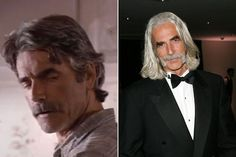 sam elliott then and now Actors Then And Now, Celebrities Then And Now, Young Celebrities, Celebs, Sam Elliott Pictures, Yesterday And Today, Interesting Faces, Samar, Good Looking Men