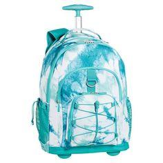 Gear-Up Pool Tie-Dye Rolling Backpack | PBteen