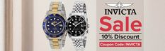 Discount Invicta Men's & Women's watches online in Ireland. Huge selection of Invicta Jewelry, Pro Diver, Reserve, Subaqua wrist watches at discounted price. Watch Sale, Coupon Codes, Coupons, Watches, Guys, Coupon, Wristwatches, Clocks, Boyfriends