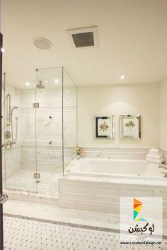 أفضل ديكورات حمامات بتصميمات فاخره