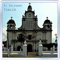 $3.29 - Acrylic Fridge Magnet: El Salvador. Izalco. Church