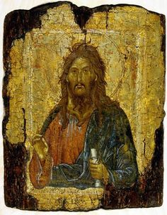 Saint John the Baptist, circa from Constantinople, from the collection of the British Museum. Byzantine Icons, Byzantine Art, Russian Icons, Russian Art, Religious Icons, Religious Art, Roman Church, Christian Religions, Jean Baptiste