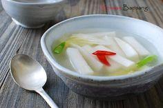 Dongchimi (동치미), quick radish kimchi