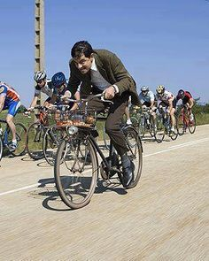 Mr. Bean is awesome. Even in the Tour de France.