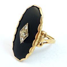 Antique Cocktail Ring by laurenrosedesign on Etsy