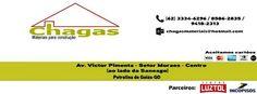 Eu recomendo Chagas Materiais para Construção- Centro, #Petrolina De Goiás, #Goiás, #Brasil