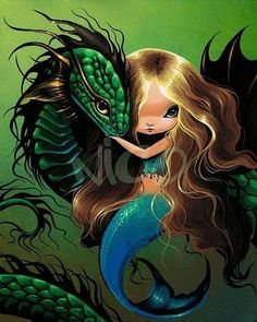 dragon mermaid - Google Search