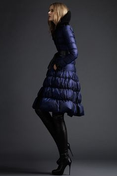 A puffer coat that's feminine!