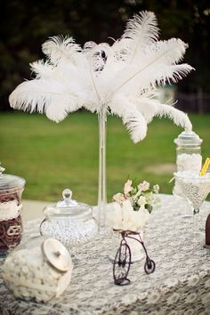 1920'S PARTY FAVORS | in backyard vintage 1920 s wedding table previous next