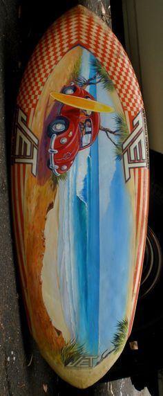 Painted Surfboards...for audrie