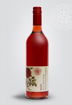 Gippsland Wine Company on Packaging of the World - Creative Package Design… Wine Bottle Design, Wine Label Design, Wine Bottle Labels, Beverage Packaging, Bottle Packaging, Brand Packaging, Design Packaging, Logo Label, Tequila