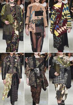 Antonio Marras – Fall 2017 – RTW – Milan Fashion Week – Print & Pattern Highlight | Patternbank